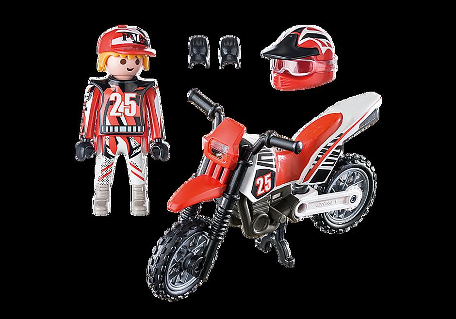 9357 Οδηγός μηχανής motorcross detail image 4