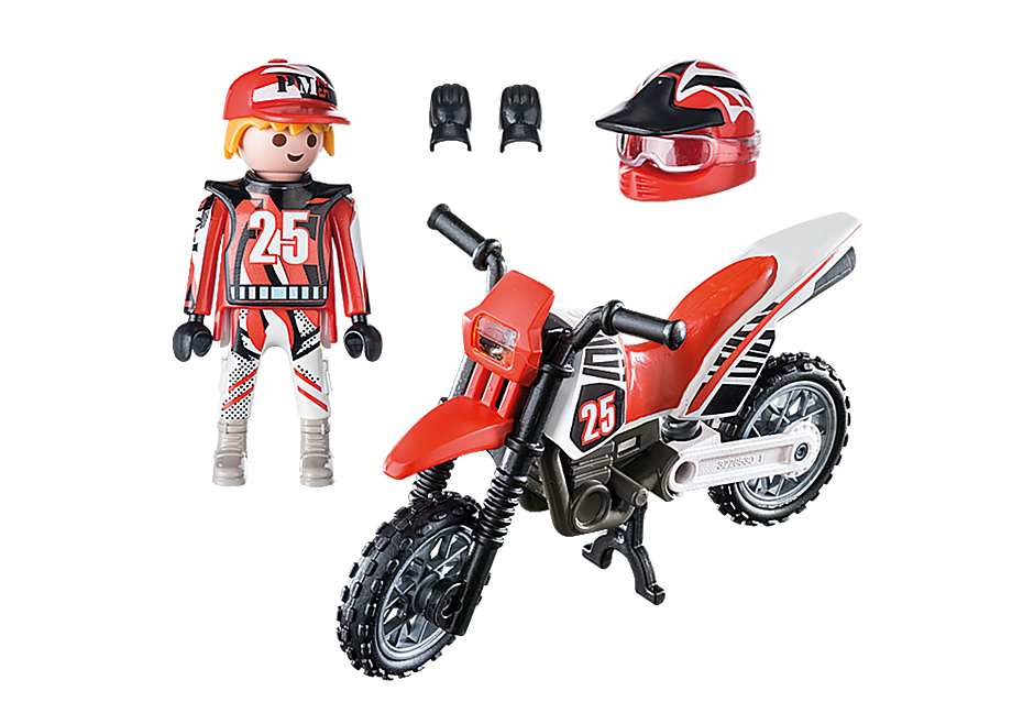 9357 Motocross Driver detail image 4