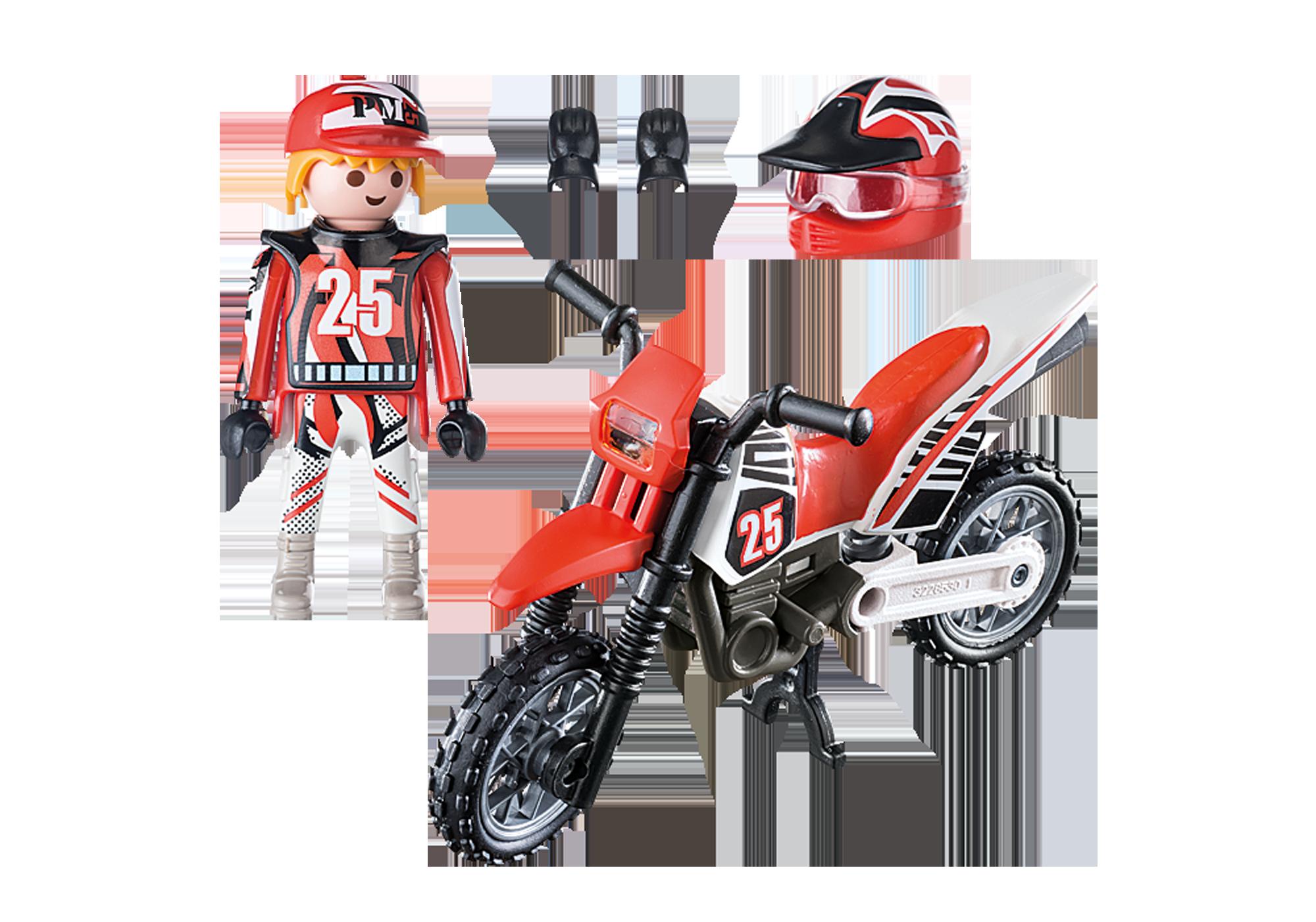 http://media.playmobil.com/i/playmobil/9357_product_box_back/Motocross Driver
