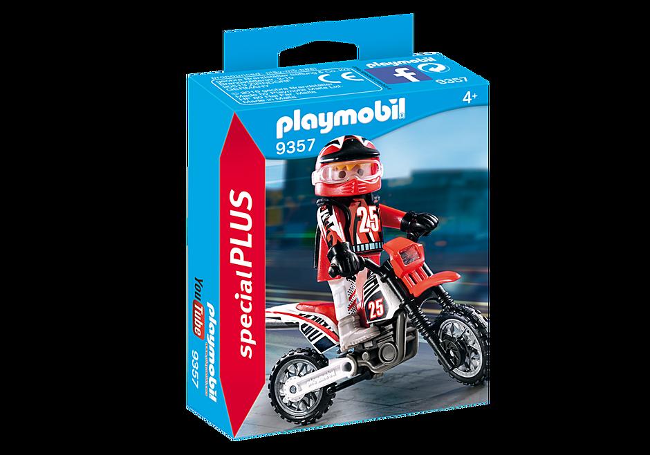 9357 Motocrossförare detail image 3