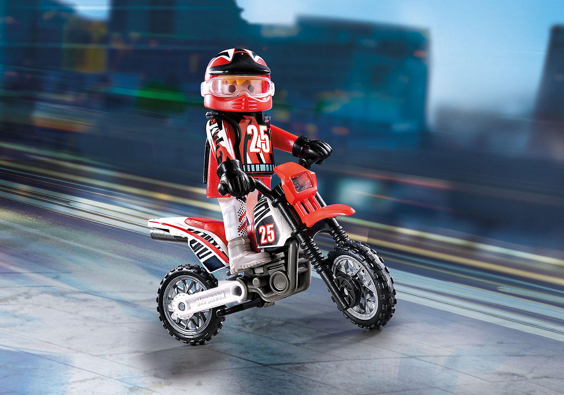 9357 Οδηγός μηχανής motorcross zoom image1
