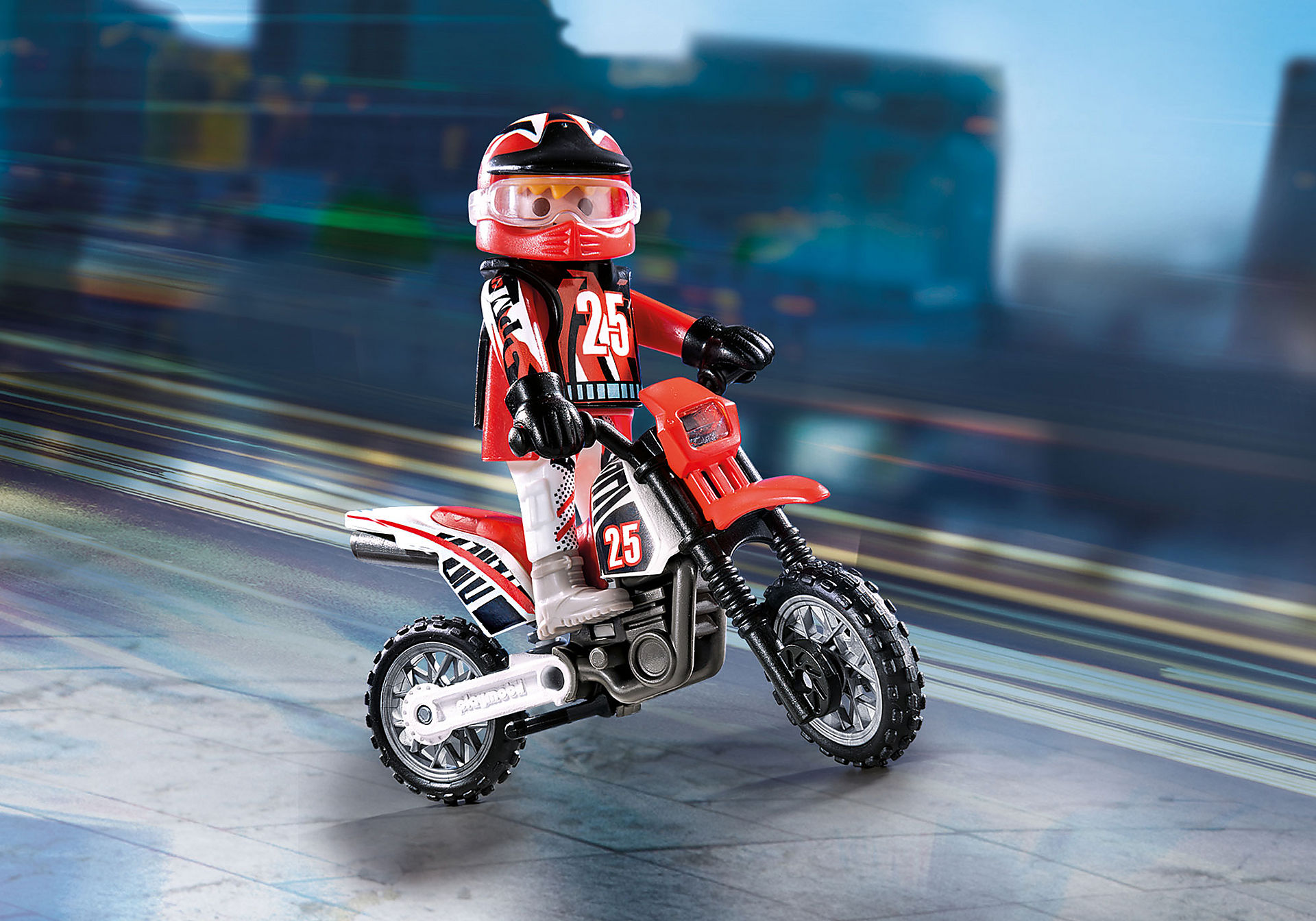 9357 Pilote de motocross  zoom image1