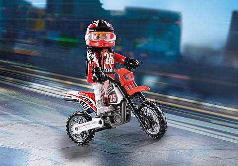 9357 Piloto de Motocross