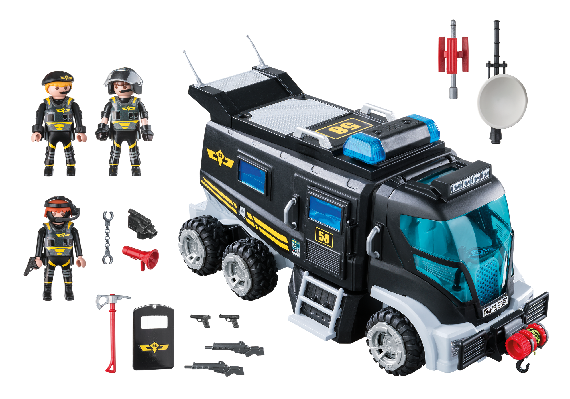 http://media.playmobil.com/i/playmobil/9360_product_box_back/Θωρακισμένο όχημα Ειδικών Αποστολών