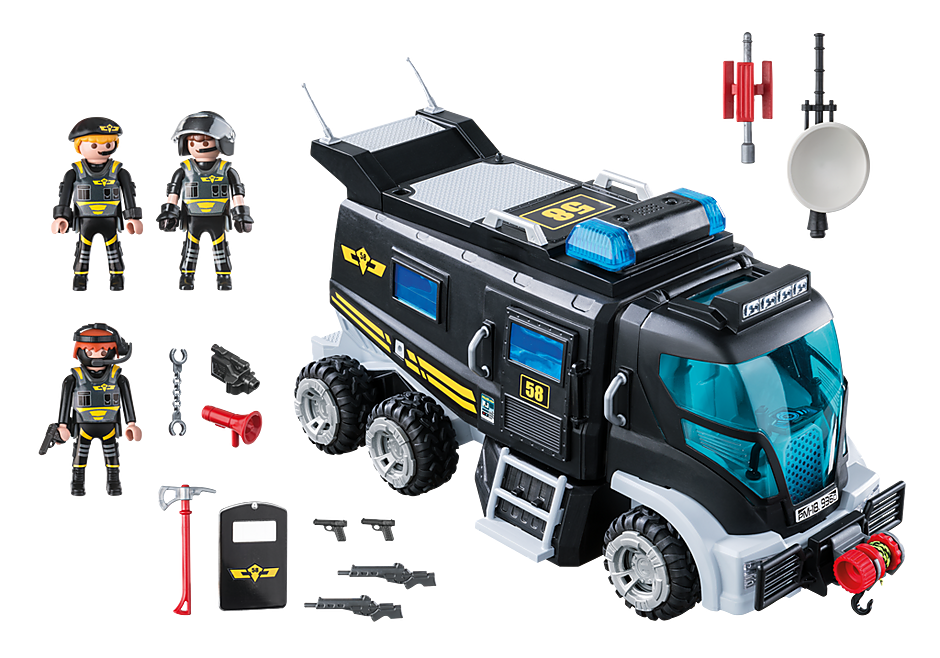 9360 SIE-truck met licht en geluid detail image 4