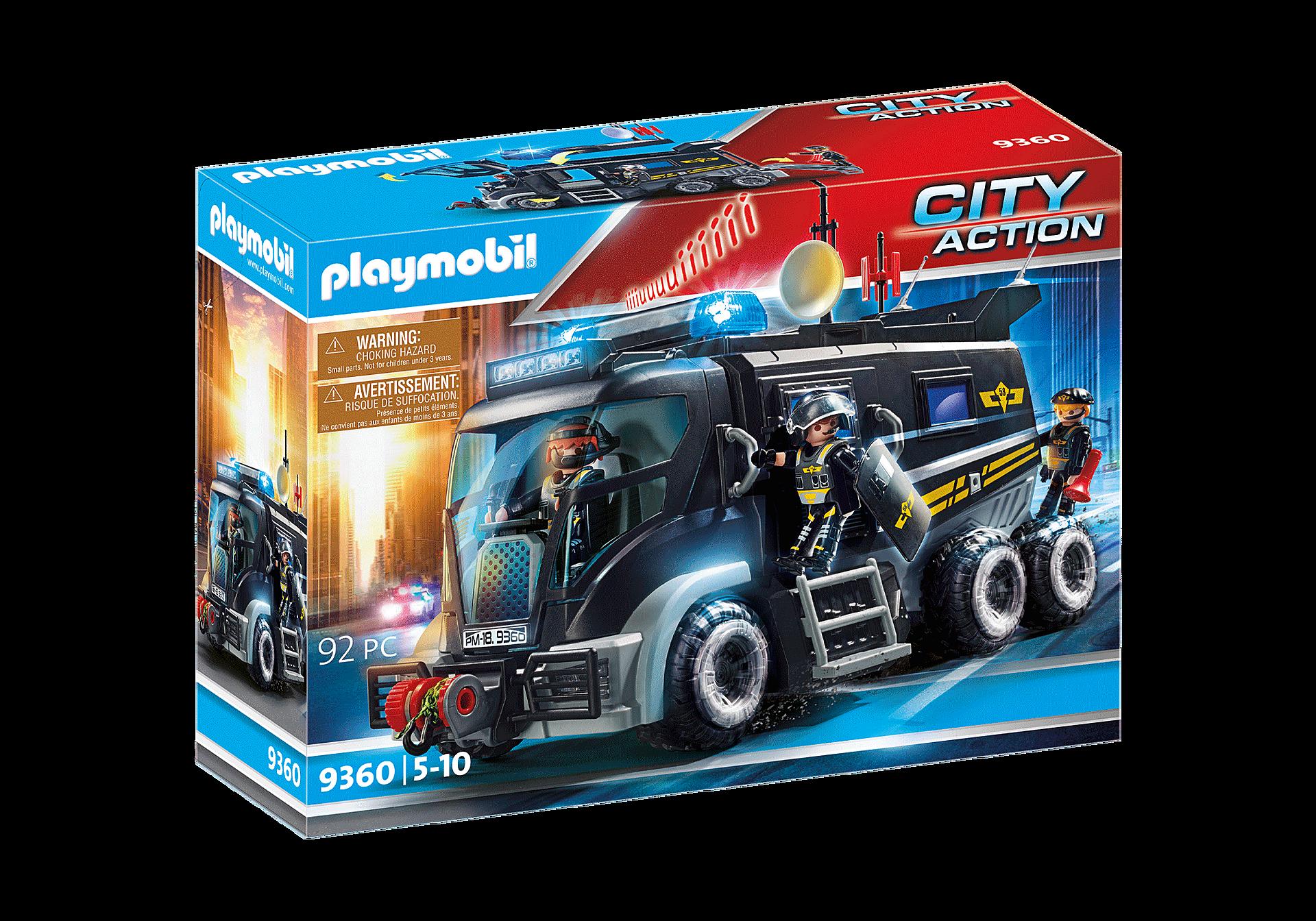 9360 Camião das Forças Especiais com luz LED e som zoom image3