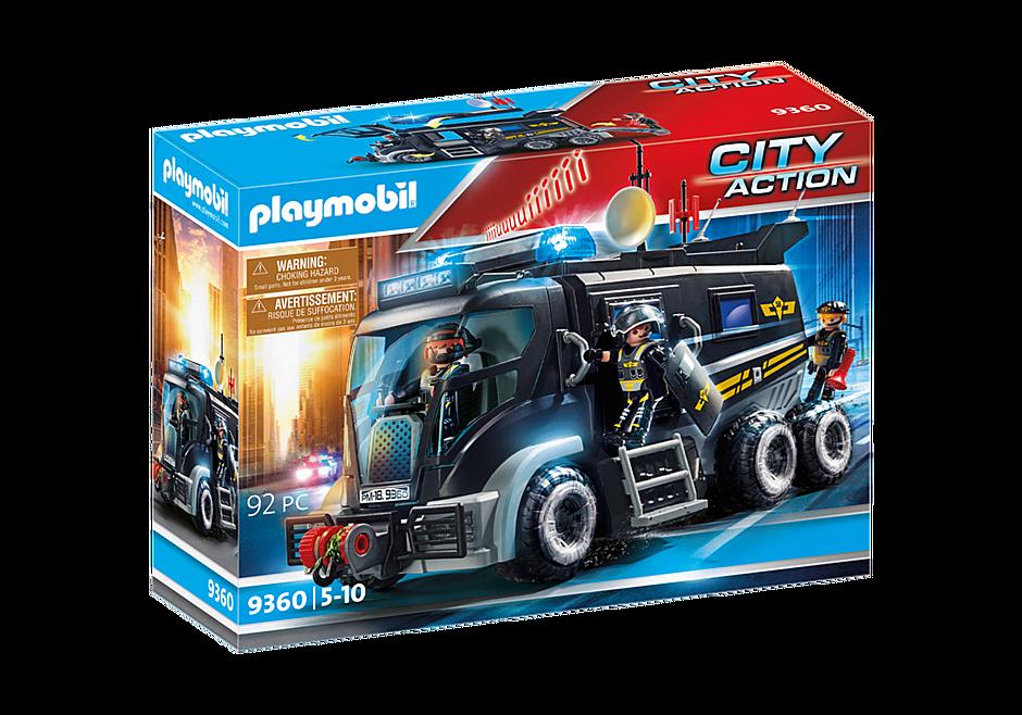 9360 Camion des policiers d'élite avec sirène et gyrophare  detail image 3