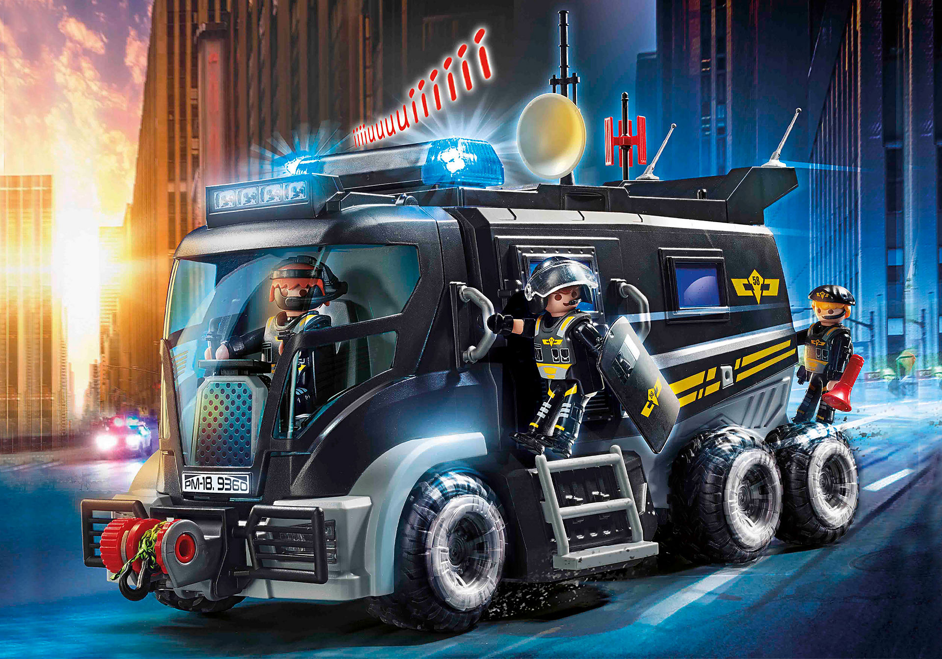 9360 SEK-Truck mit Licht und Sound zoom image1