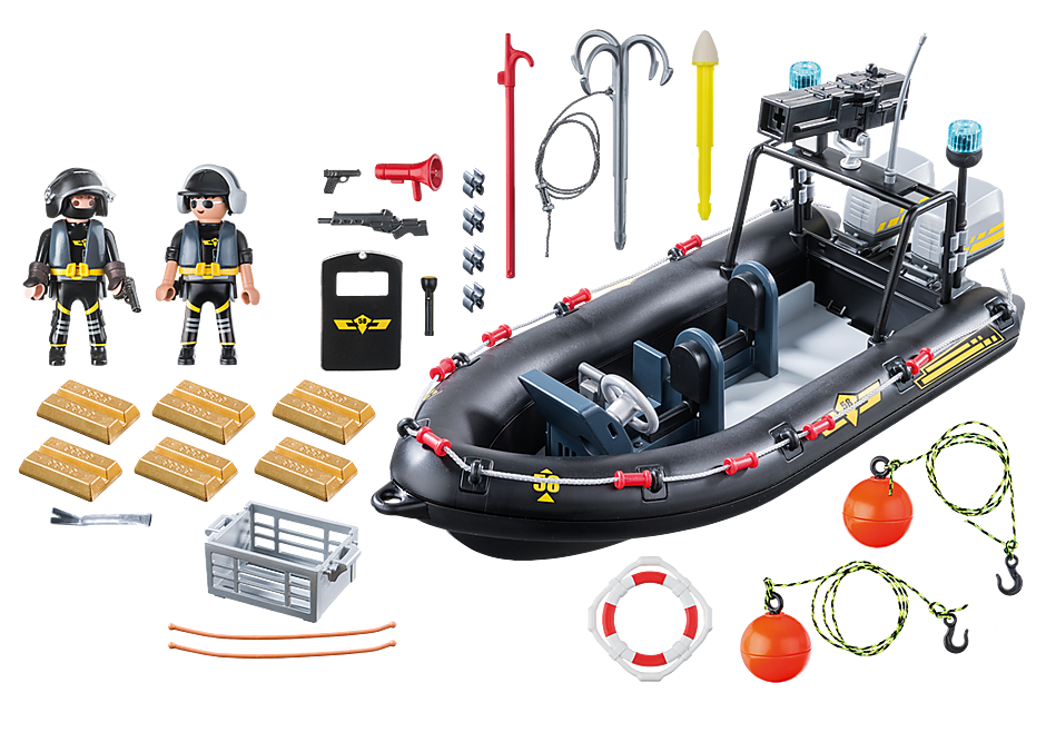 9362 SWAT Boat detail image 4