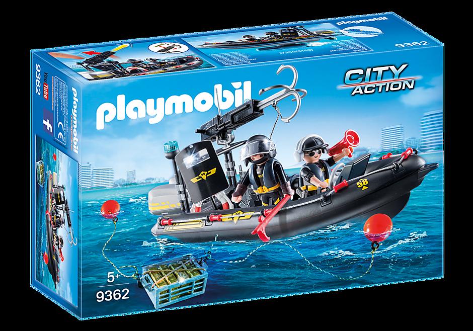 http://media.playmobil.com/i/playmobil/9362_product_box_front/Gommone Unità Speciale con refurtiva