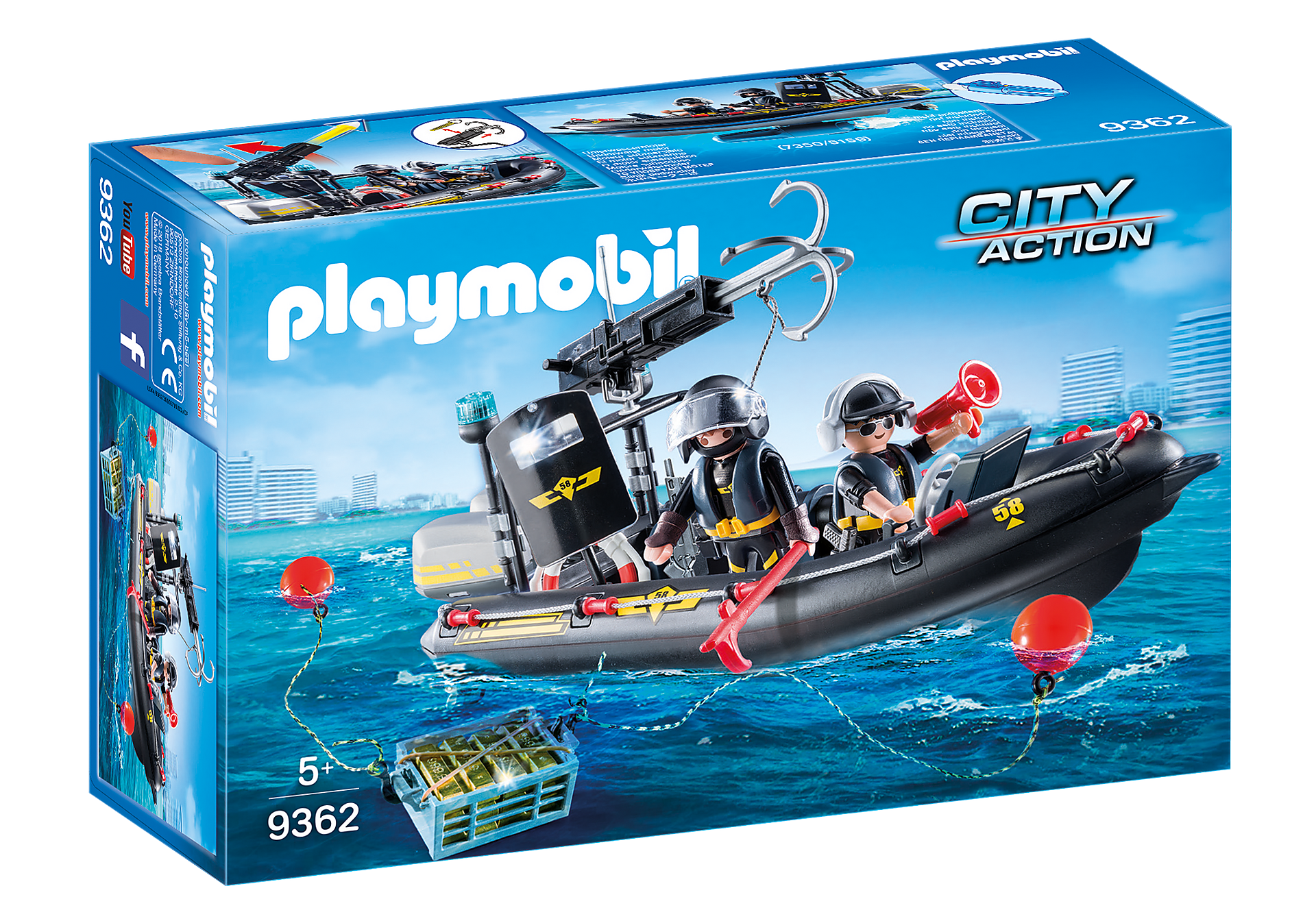 http://media.playmobil.com/i/playmobil/9362_product_box_front/Gommone Unità Speciale con refurtiva