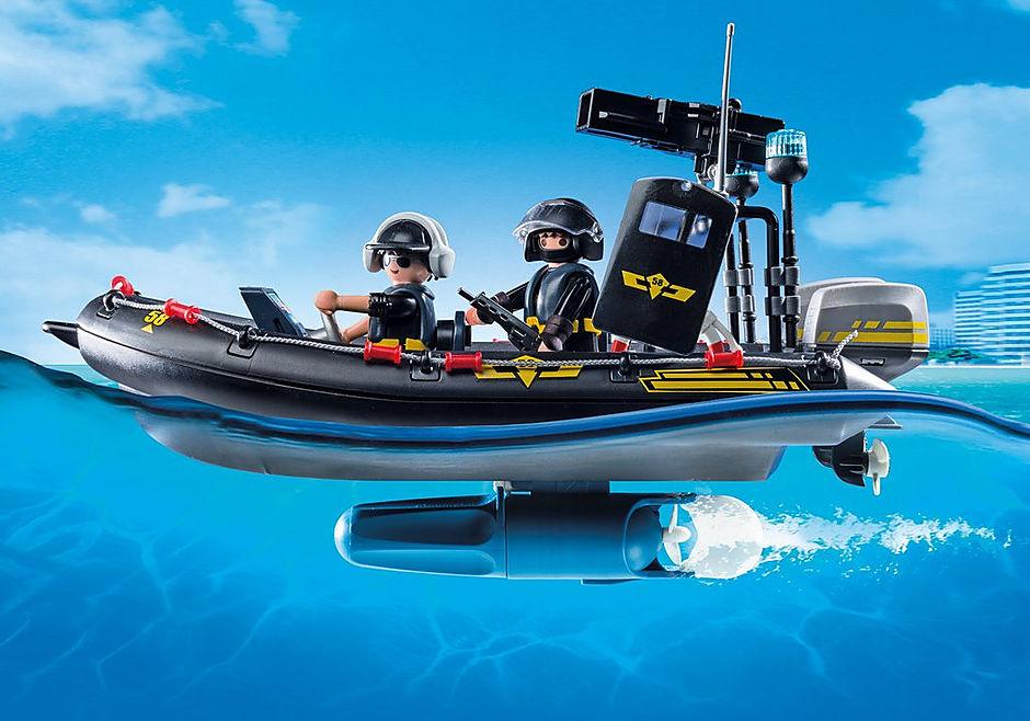 http://media.playmobil.com/i/playmobil/9362_product_extra2/Gommone Unità Speciale con refurtiva