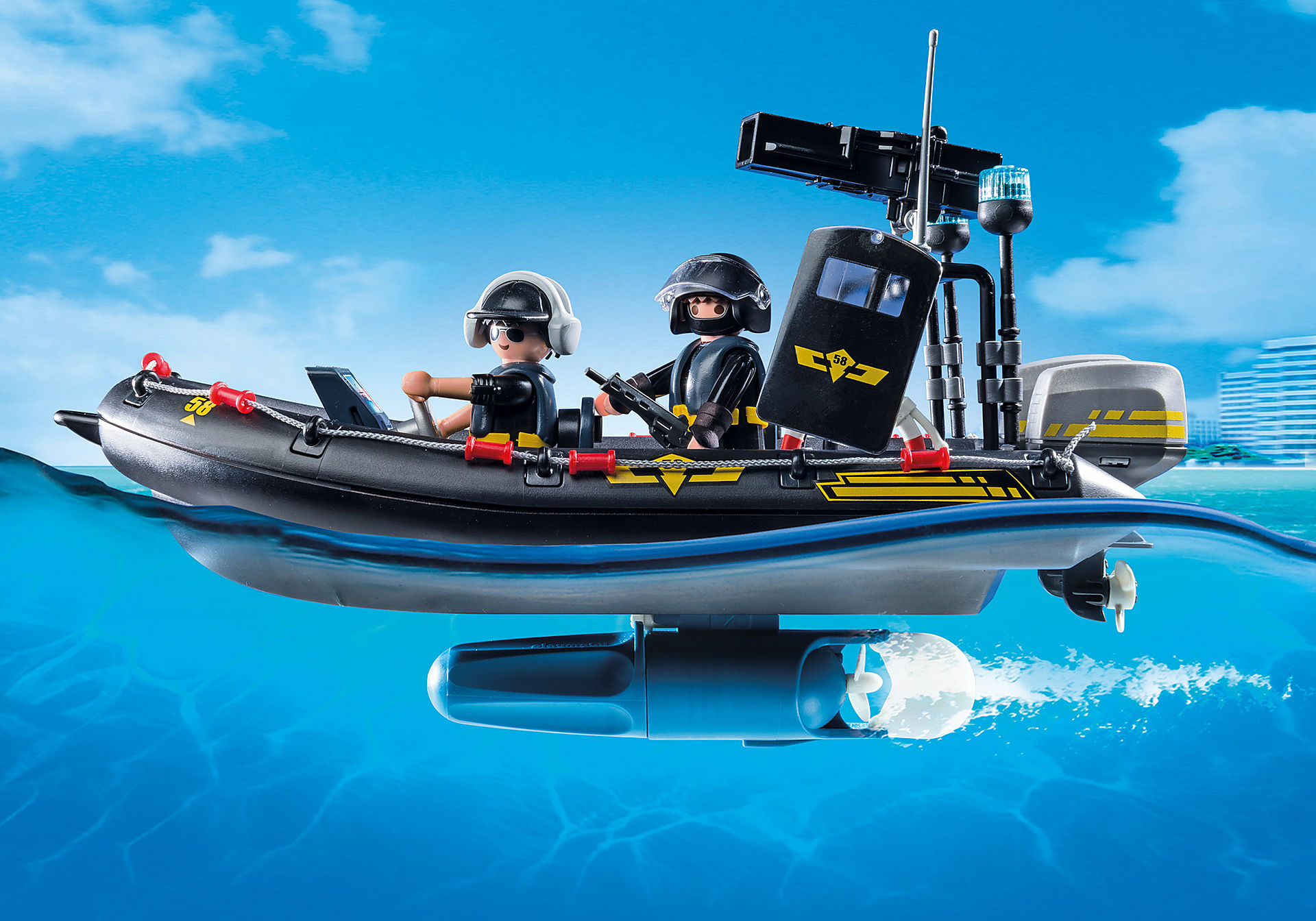 9362 SWAT Boat zoom image6