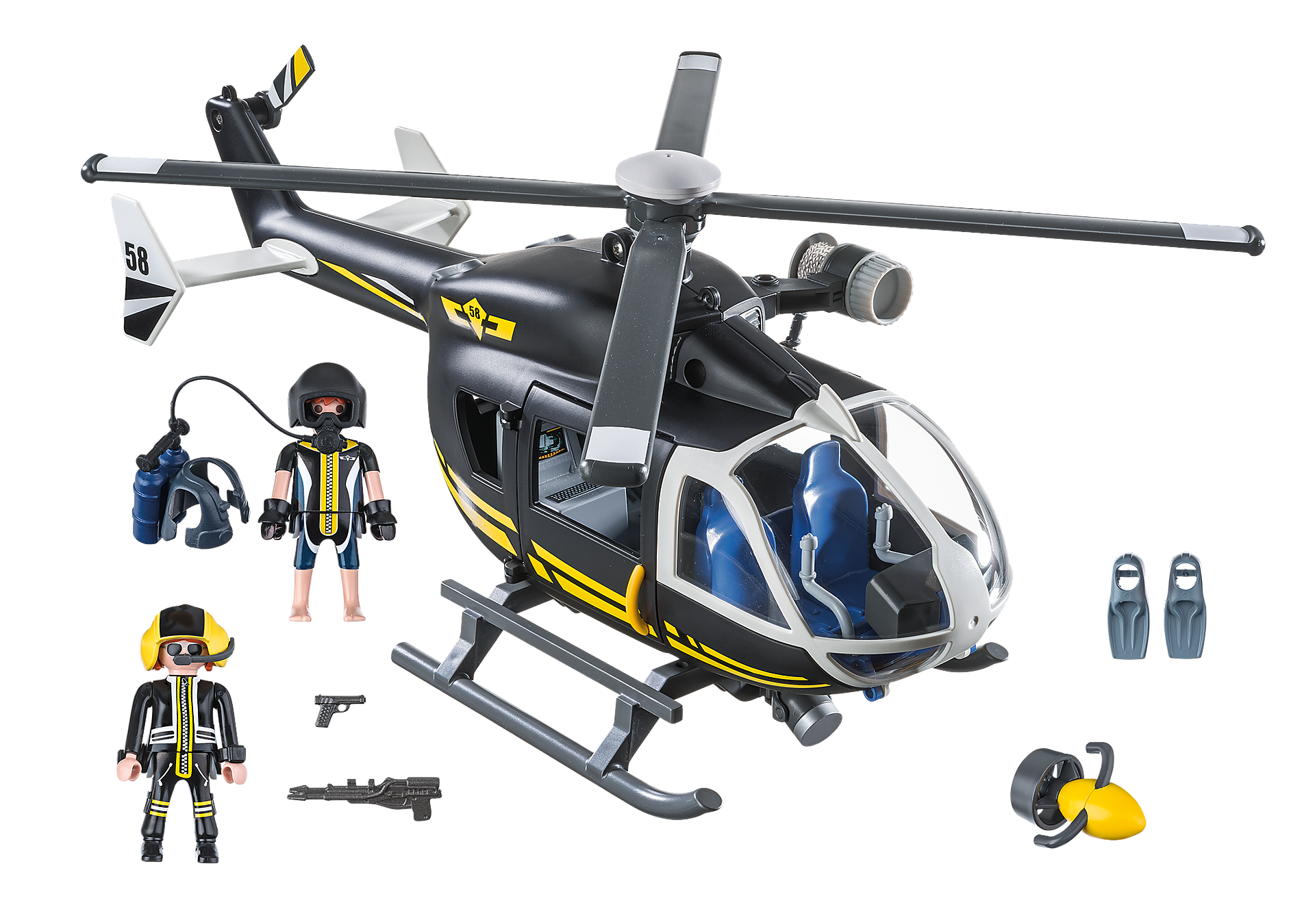 9363 Helicóptero das Forças Especiais zoom image4