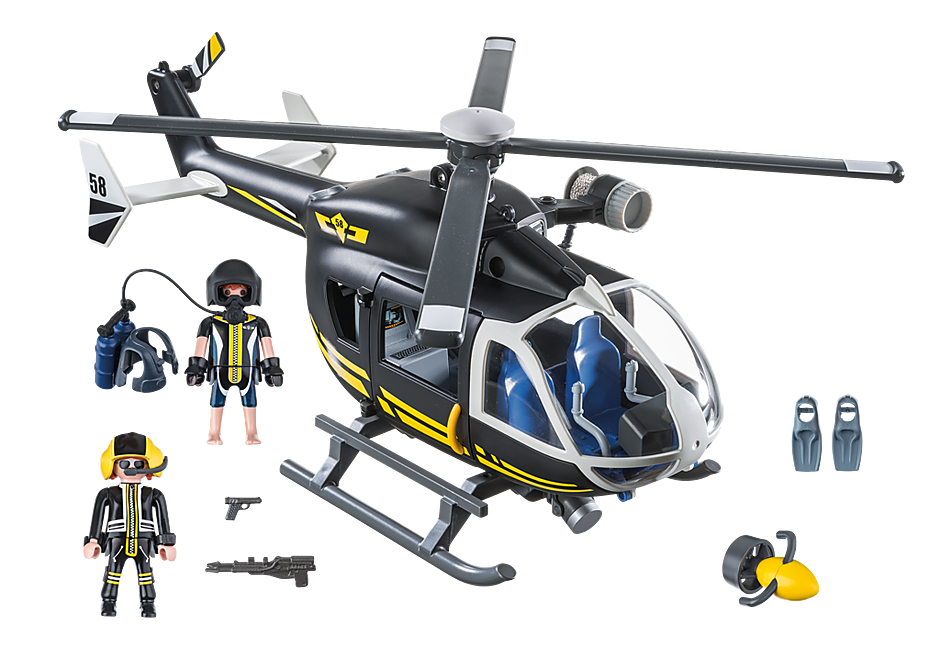 9363 SWAT Helicopter detail image 4