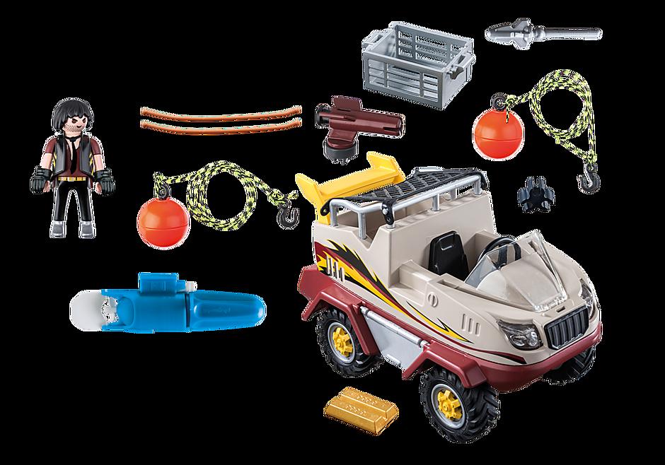 9364 Amphibious Truck detail image 4