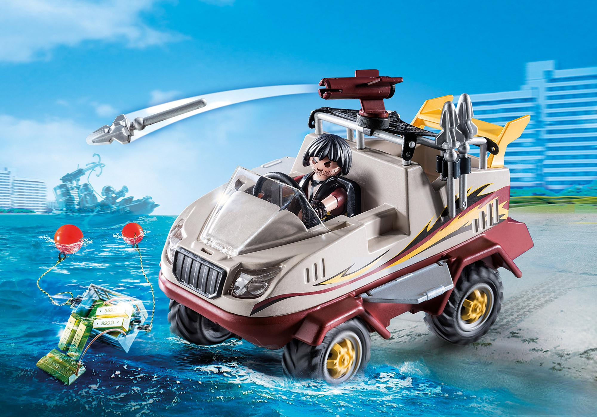 http://media.playmobil.com/i/playmobil/9364_product_detail/Αμφίβιο όχημα Ομάδας Ειδικών Αποστολών