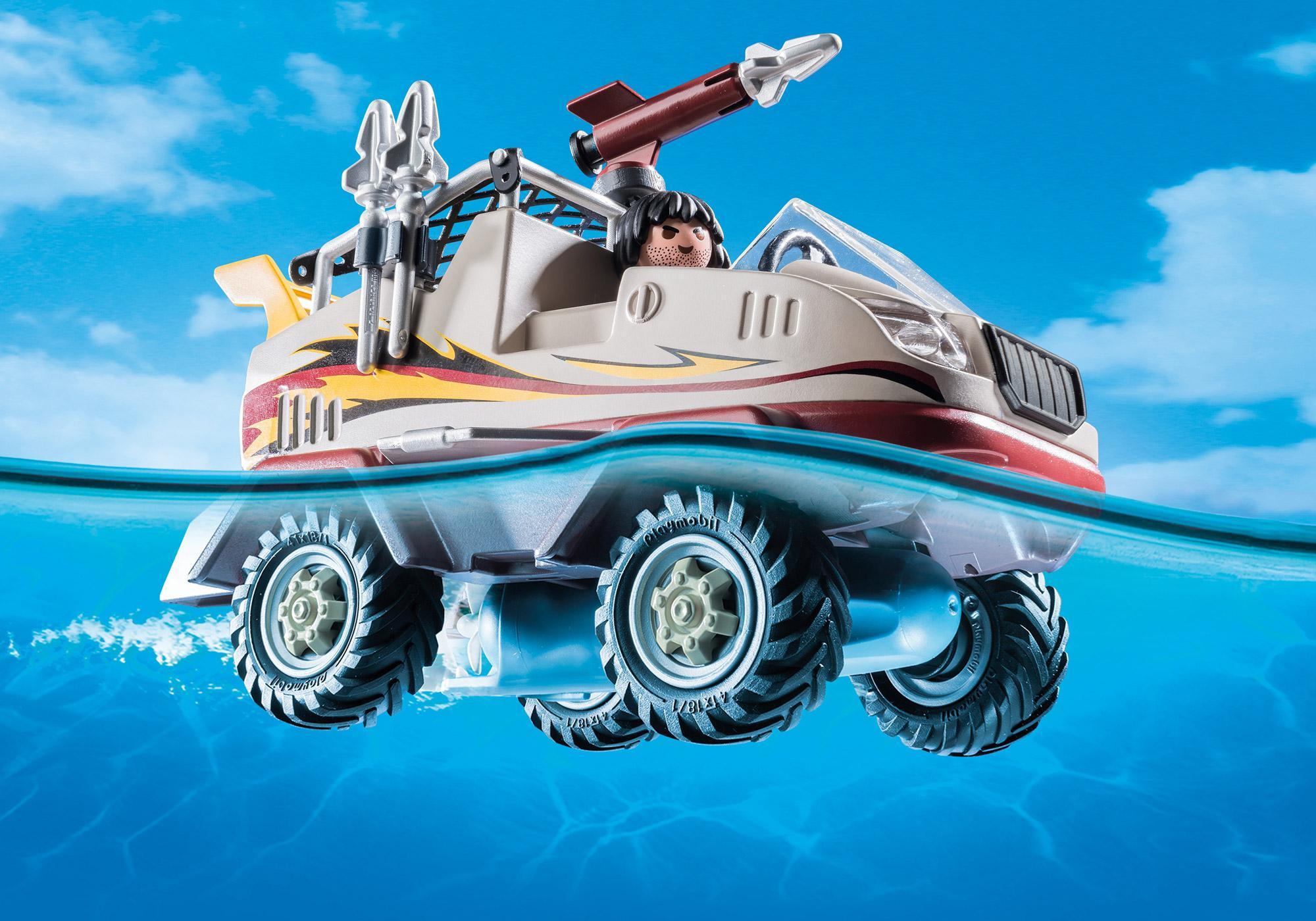 http://media.playmobil.com/i/playmobil/9364_product_extra2/Αμφίβιο όχημα Ομάδας Ειδικών Αποστολών