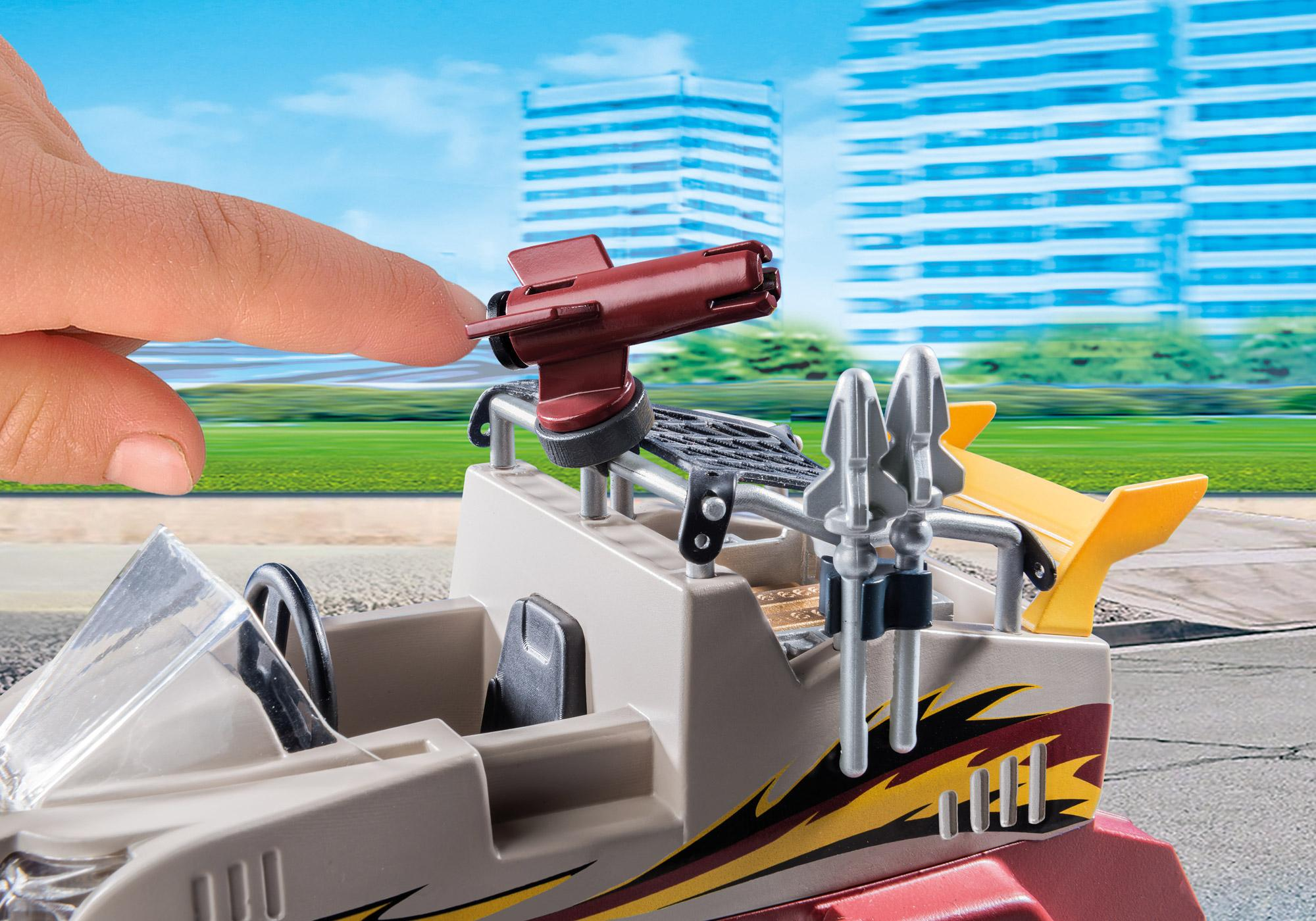 http://media.playmobil.com/i/playmobil/9364_product_extra3/Αμφίβιο όχημα Ομάδας Ειδικών Αποστολών