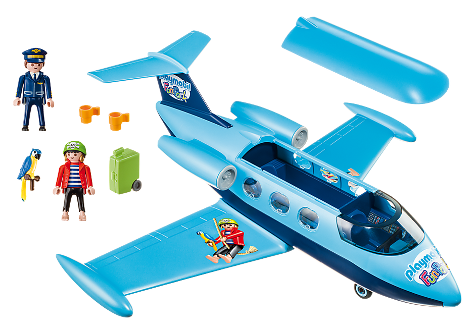 9366 Samolot Wycieczkowy Fun Park detail image 3