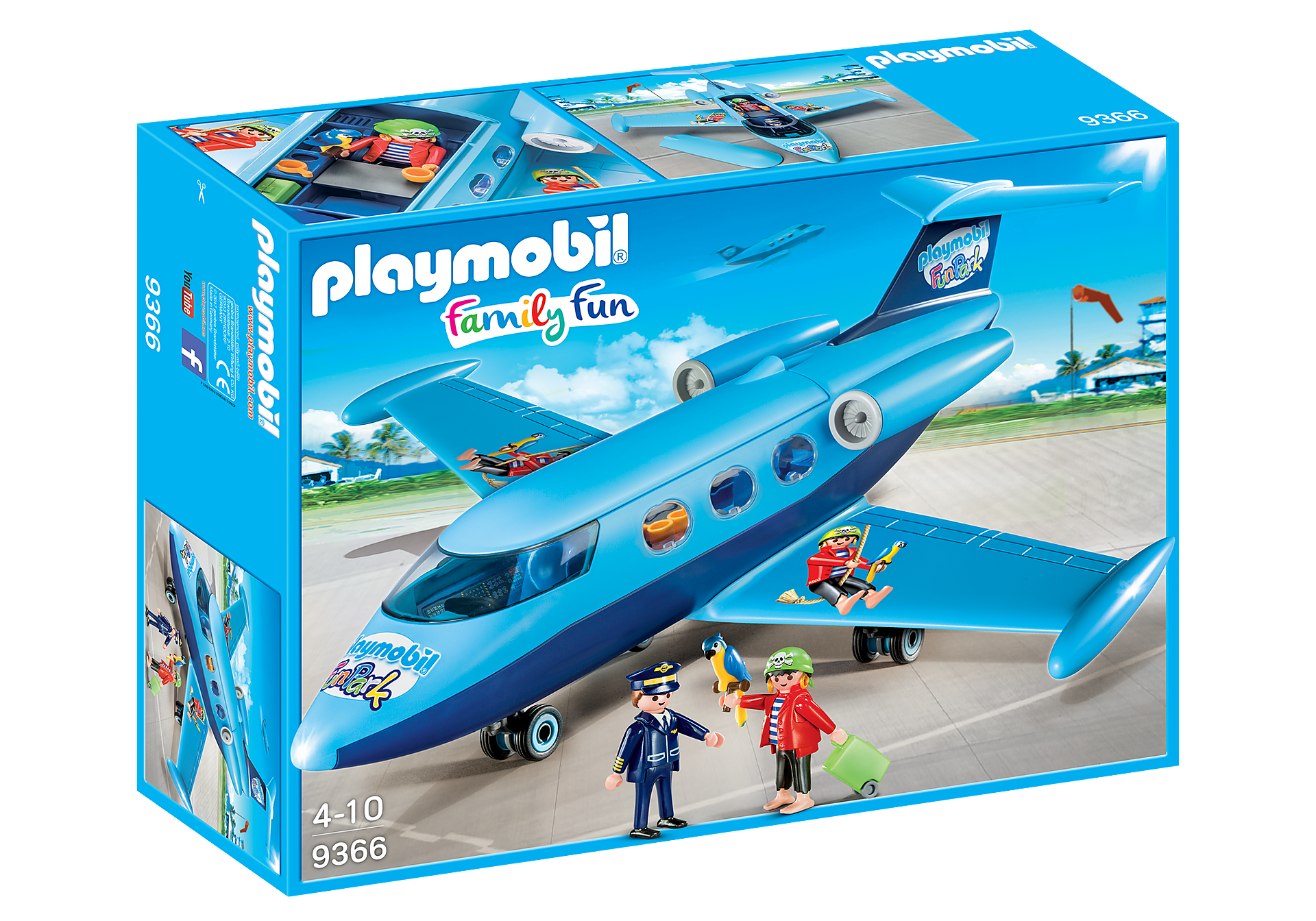 9366 PLAYMOBIL-FunPark Summer Jet zoom image2