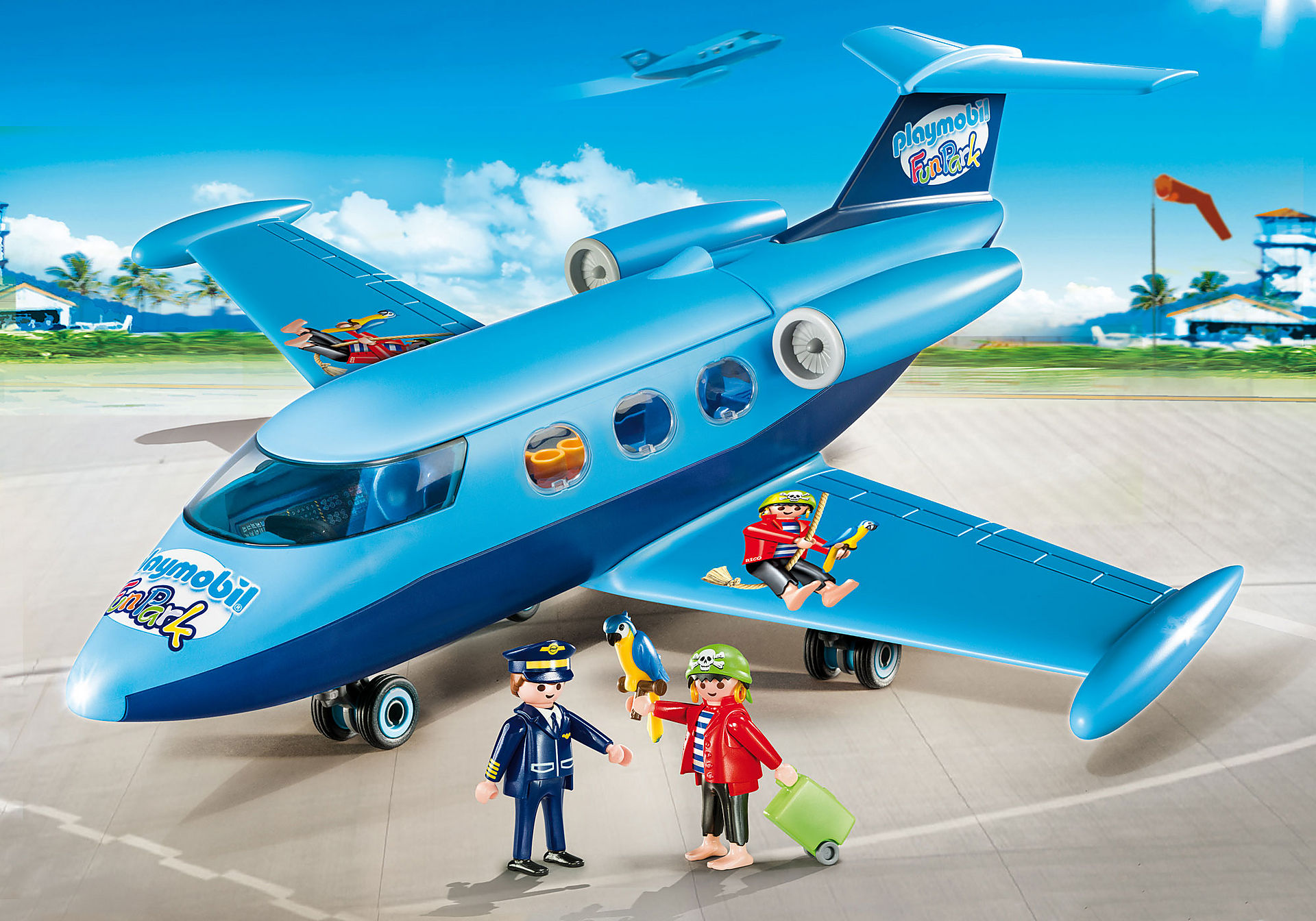 9366 PLAYMOBIL-FunPark Avión zoom image1
