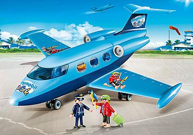 9366 PLAYMOBIL-FunPark Semesterflygplan