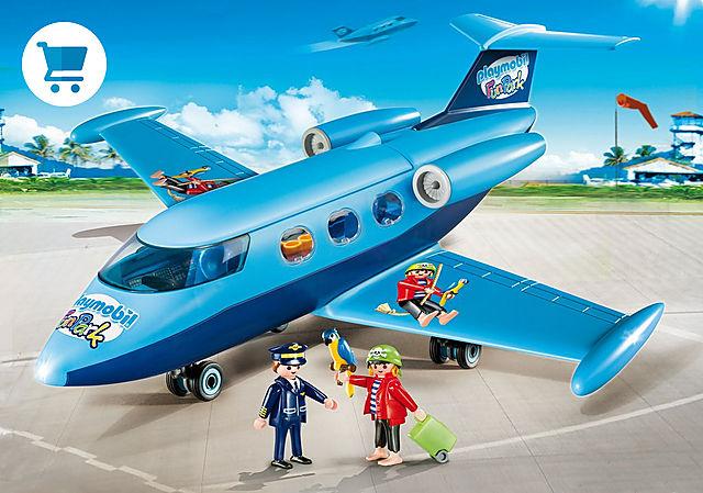 9366_product_detail/PLAYMOBIL-FunPark Vliegtuig met Rico