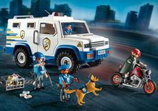 Playmobil Police Money Transporter 9371
