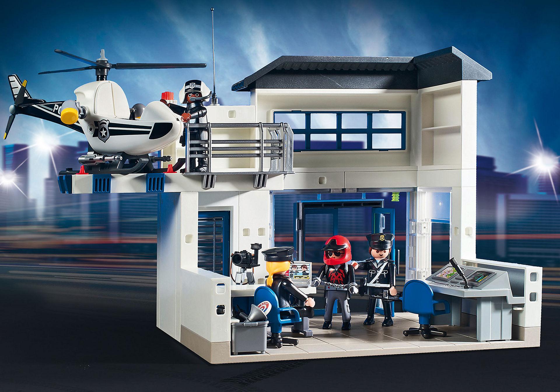 http://media.playmobil.com/i/playmobil/9372_product_extra1/Politiepost met voertuigen