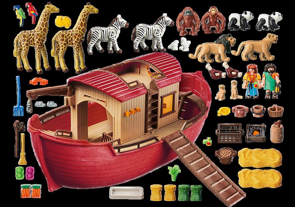 9373 Arche de Noé avec animaux detail image 4
