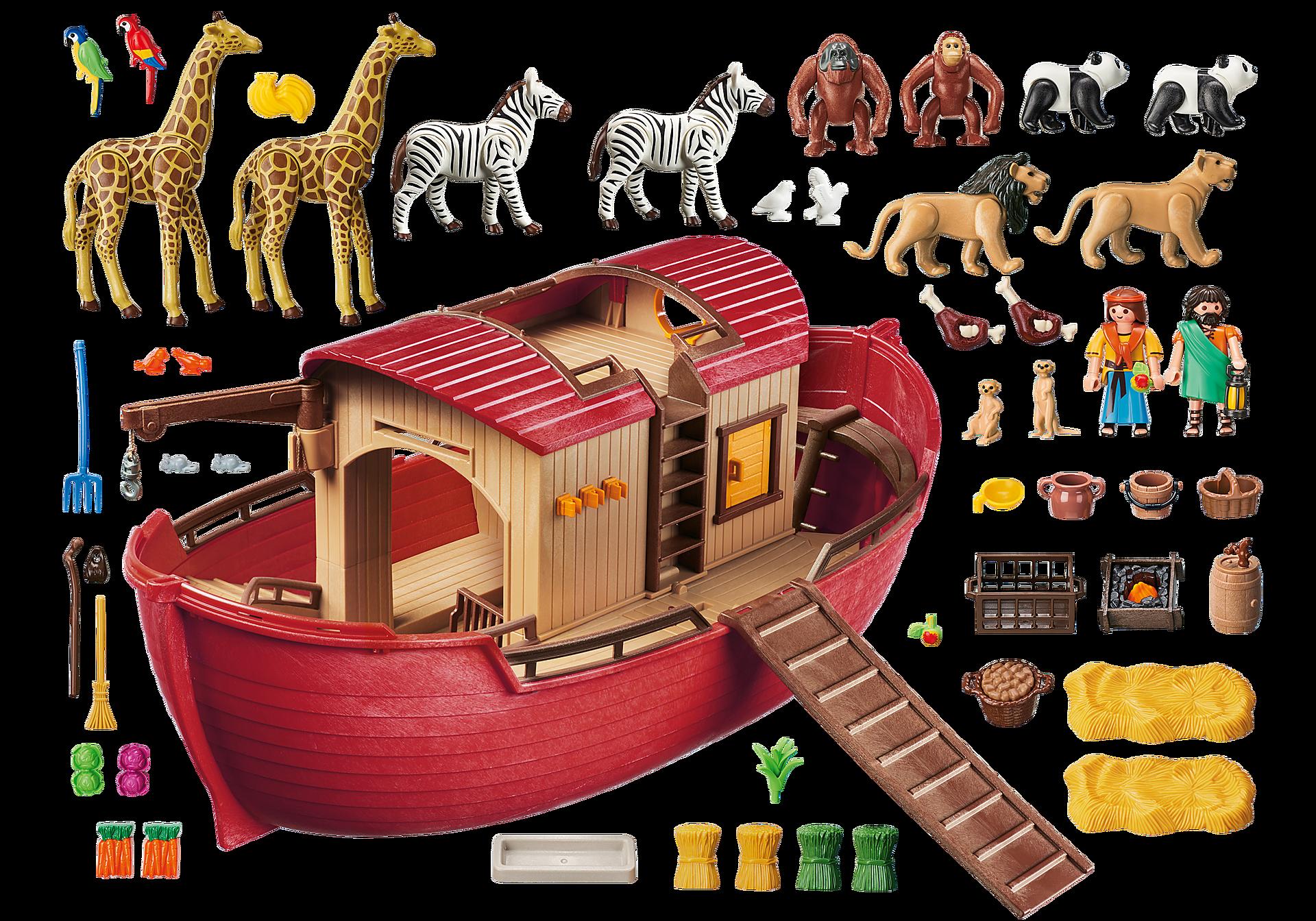 9373 Arche de Noé avec animaux zoom image4
