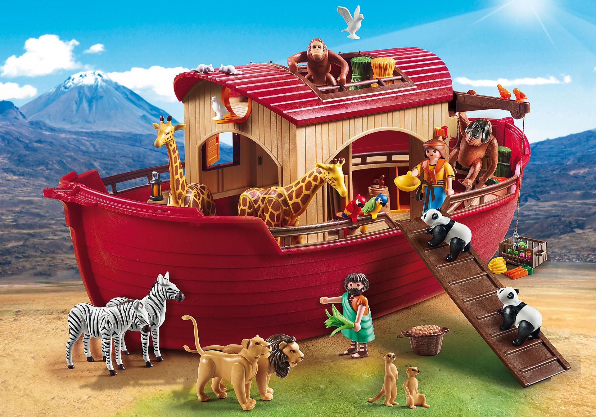 9373 Arche de Noé avec animaux zoom image1