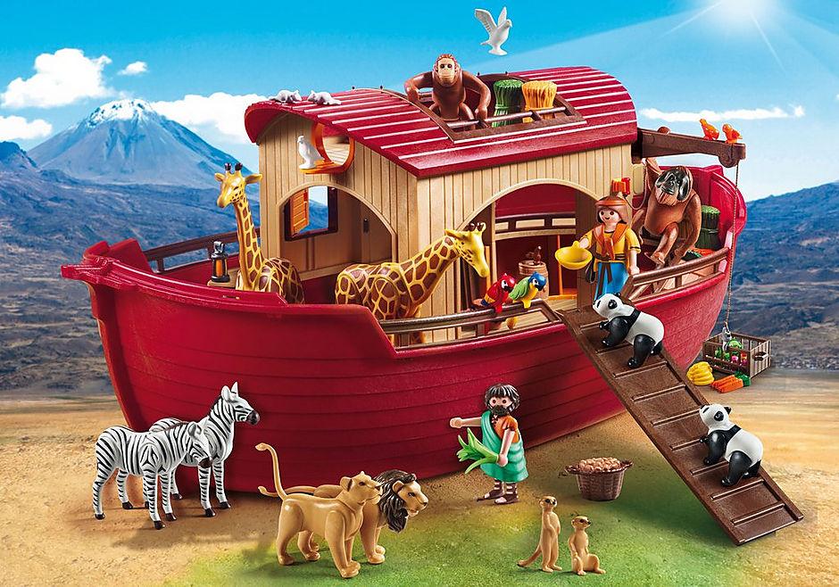 9373 Arche de Noé avec animaux detail image 1