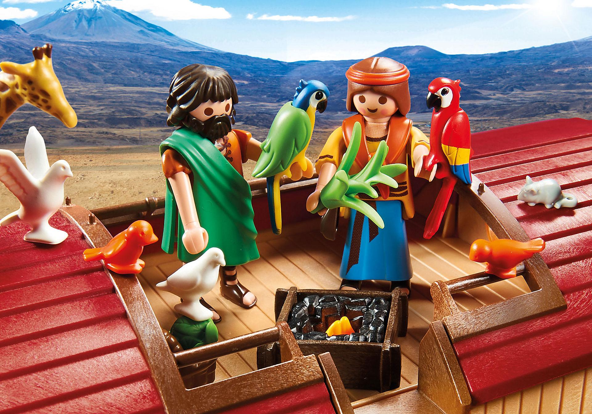 9373 Arche de Noé avec animaux zoom image5