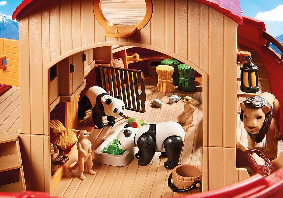 9373 Arche de Noé avec animaux detail image 7