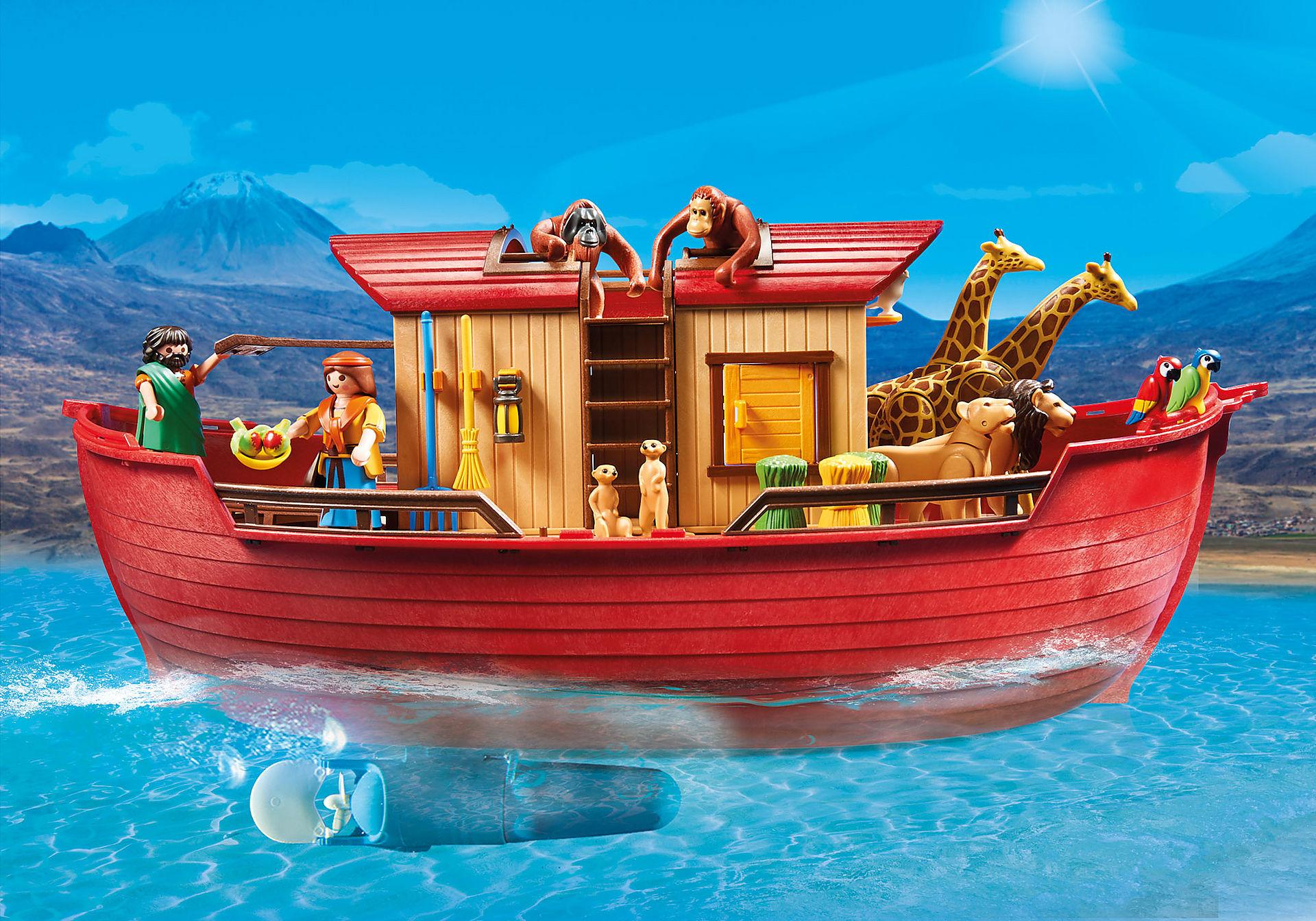 9373 Arche de Noé avec animaux zoom image9