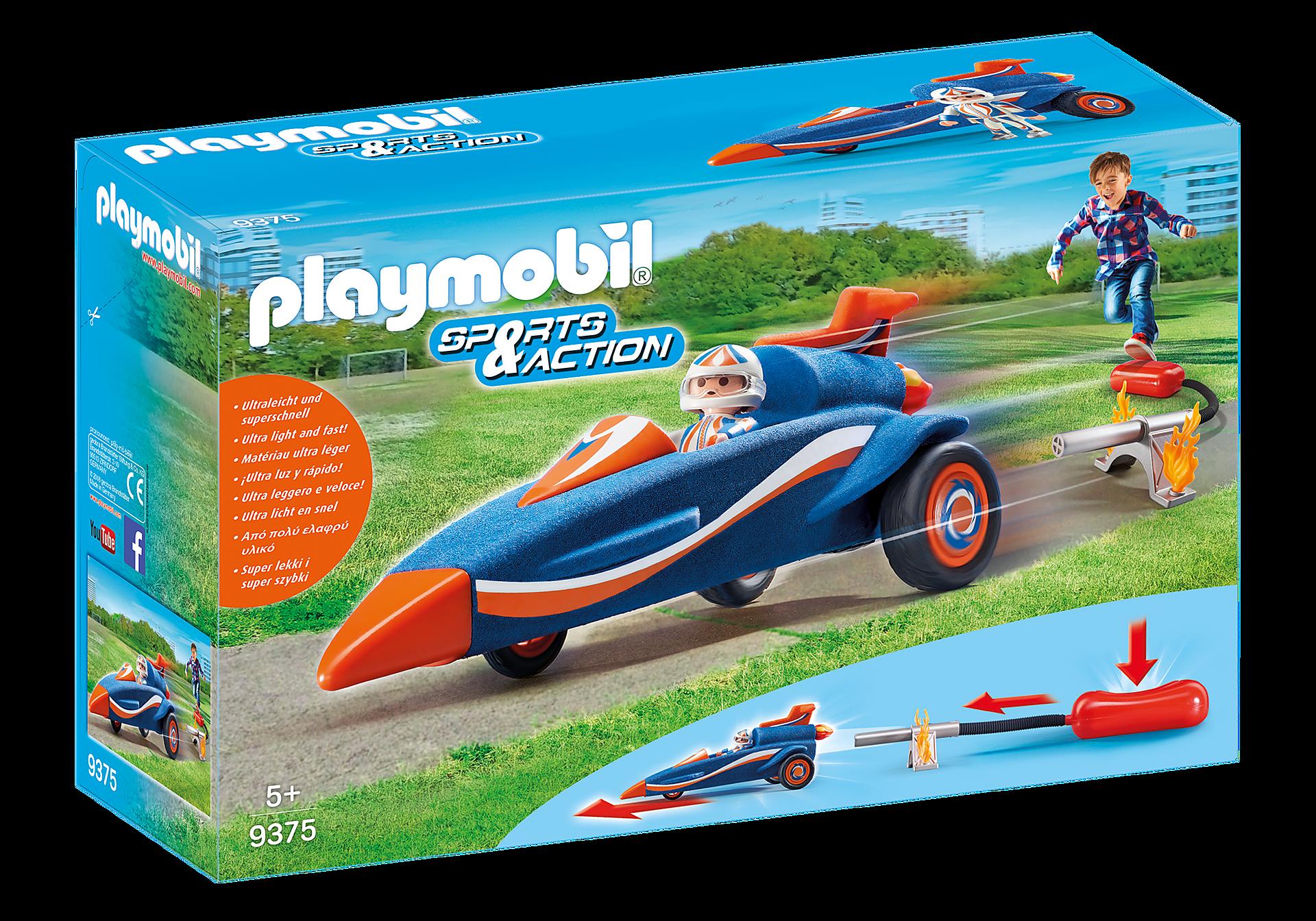 9375 Piloot met autoraket zoom image2