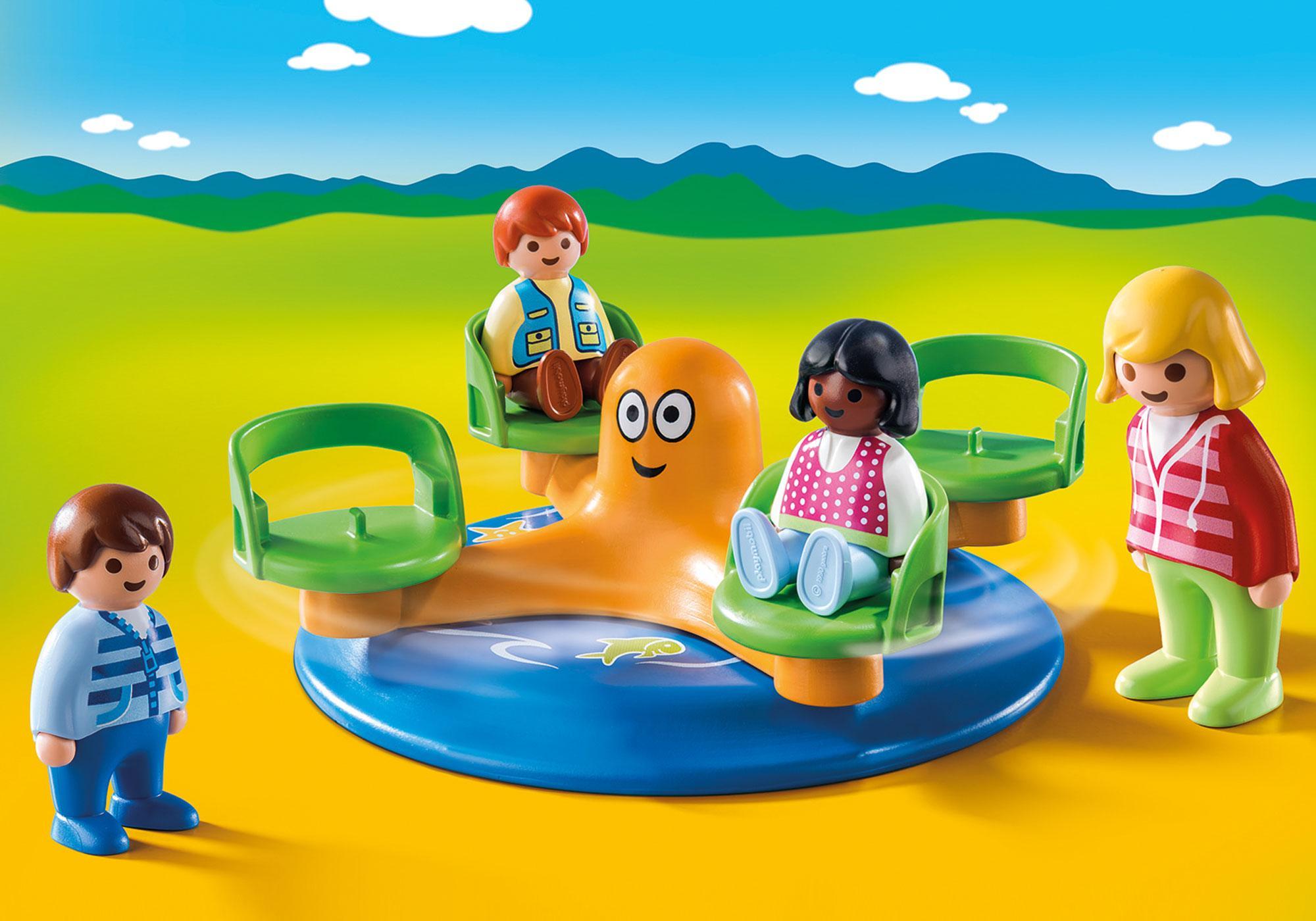 http://media.playmobil.com/i/playmobil/9379_product_detail/Children's Carousel