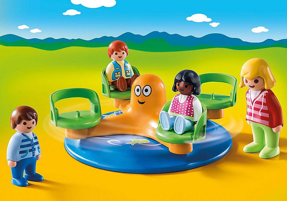 9379 Enfants et manège detail image 1