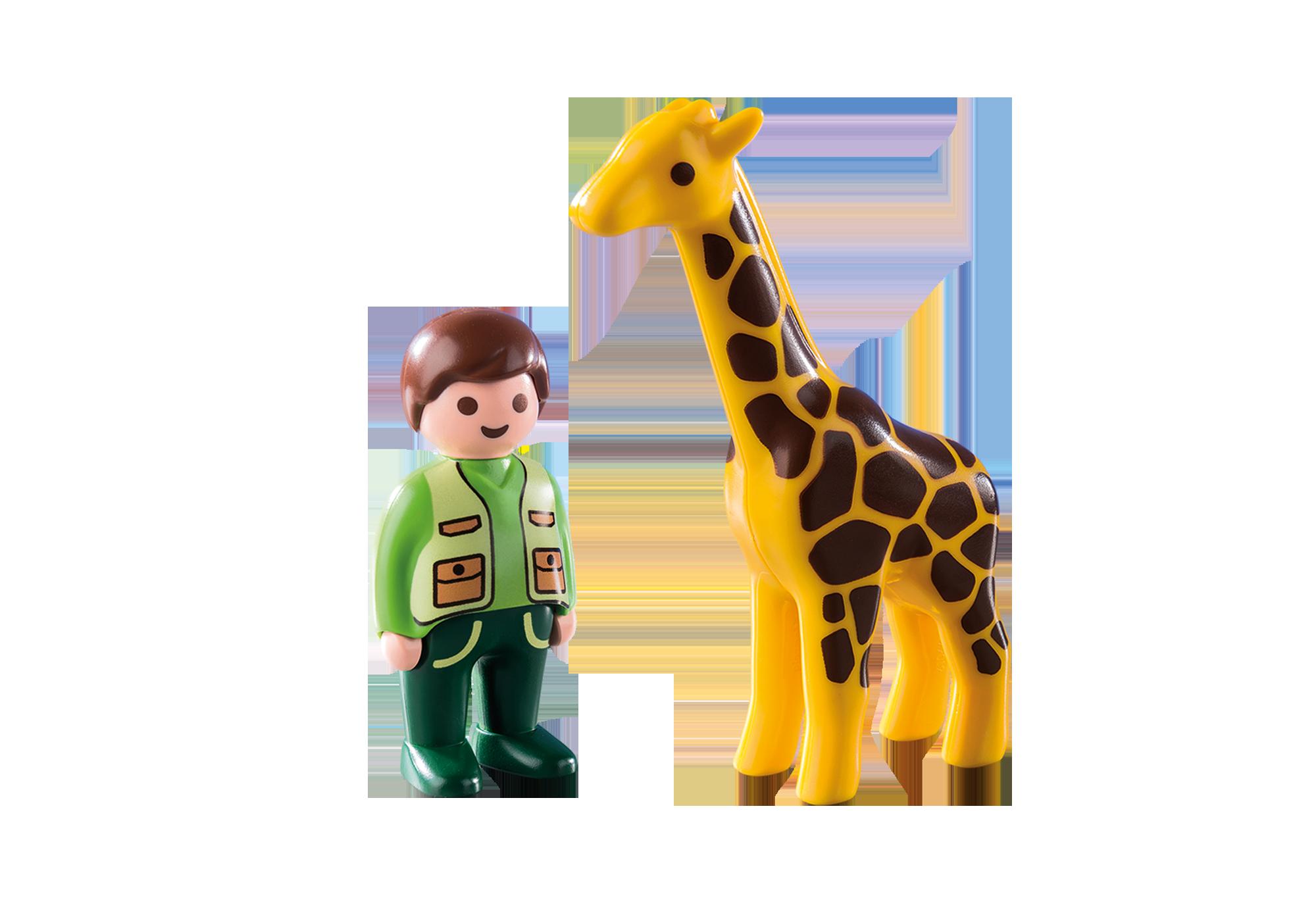 http://media.playmobil.com/i/playmobil/9380_product_box_back/Custode dello zoo con giraffa 1.2.3
