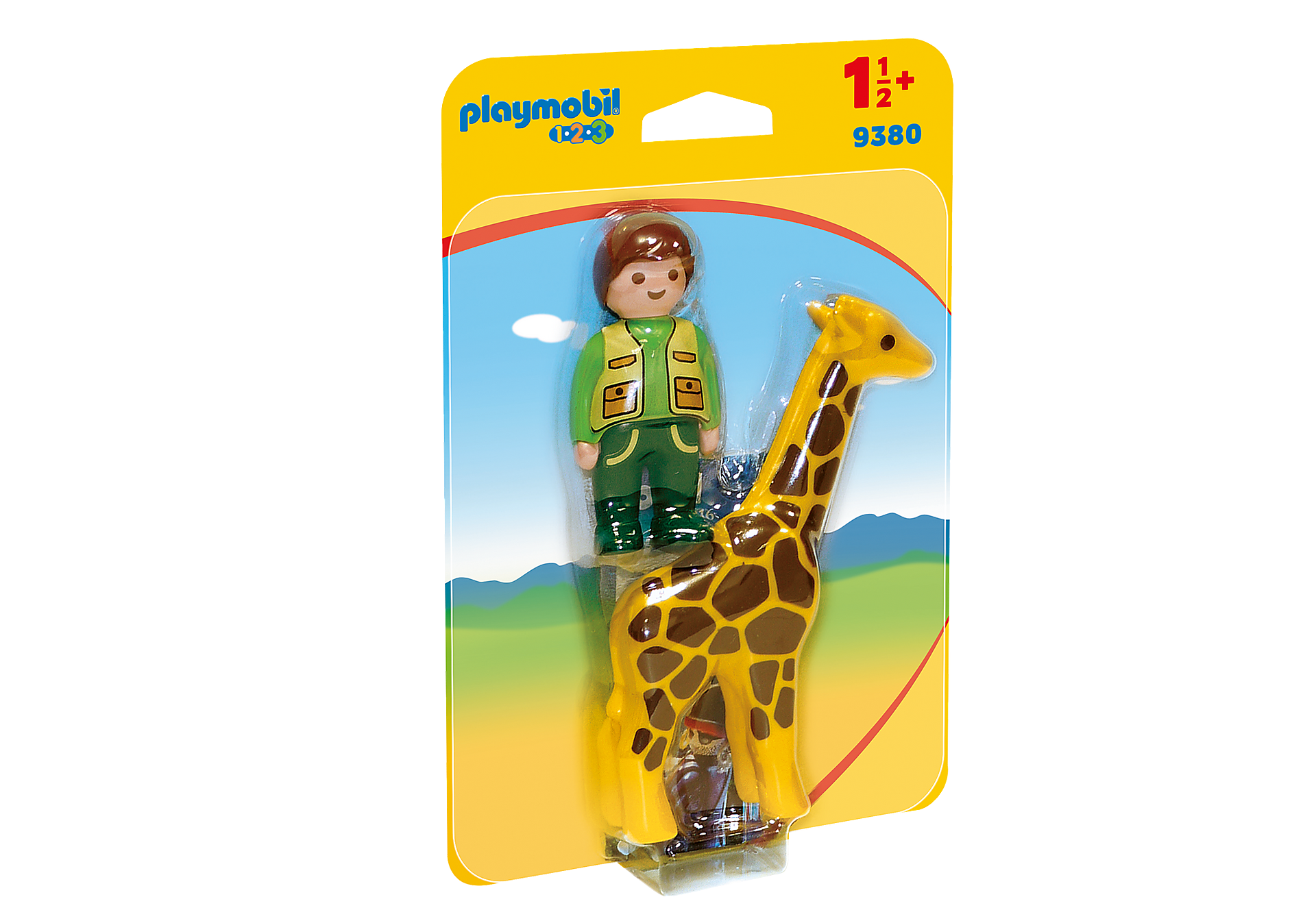 9380 Soigneur avec girafe zoom image3
