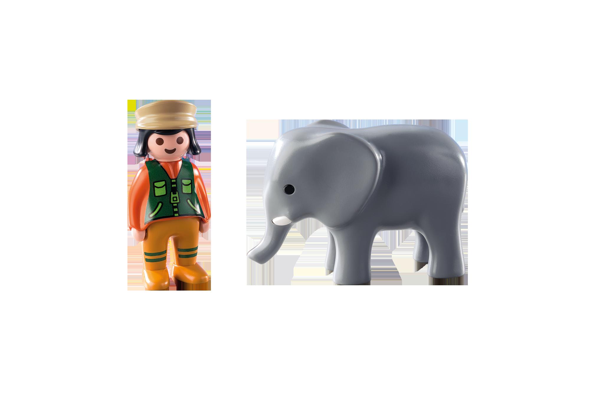 http://media.playmobil.com/i/playmobil/9381_product_box_back/1.2.3 Cuidadora con Elefante