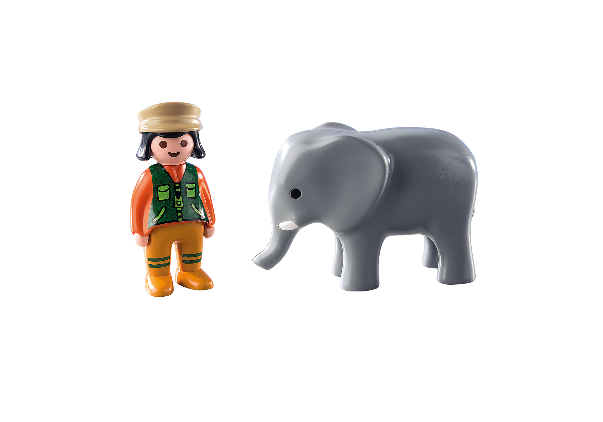 9381 Zookeeper with Elephant zoom image4