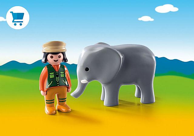 9381_product_detail/Dierenverzorgster met olifant