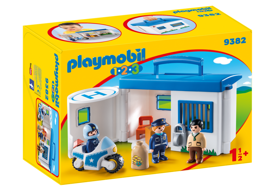 Take Along Police Station 9382 Playmobil Lithuania
