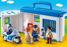 Playmobil Take Along Police Station 9382