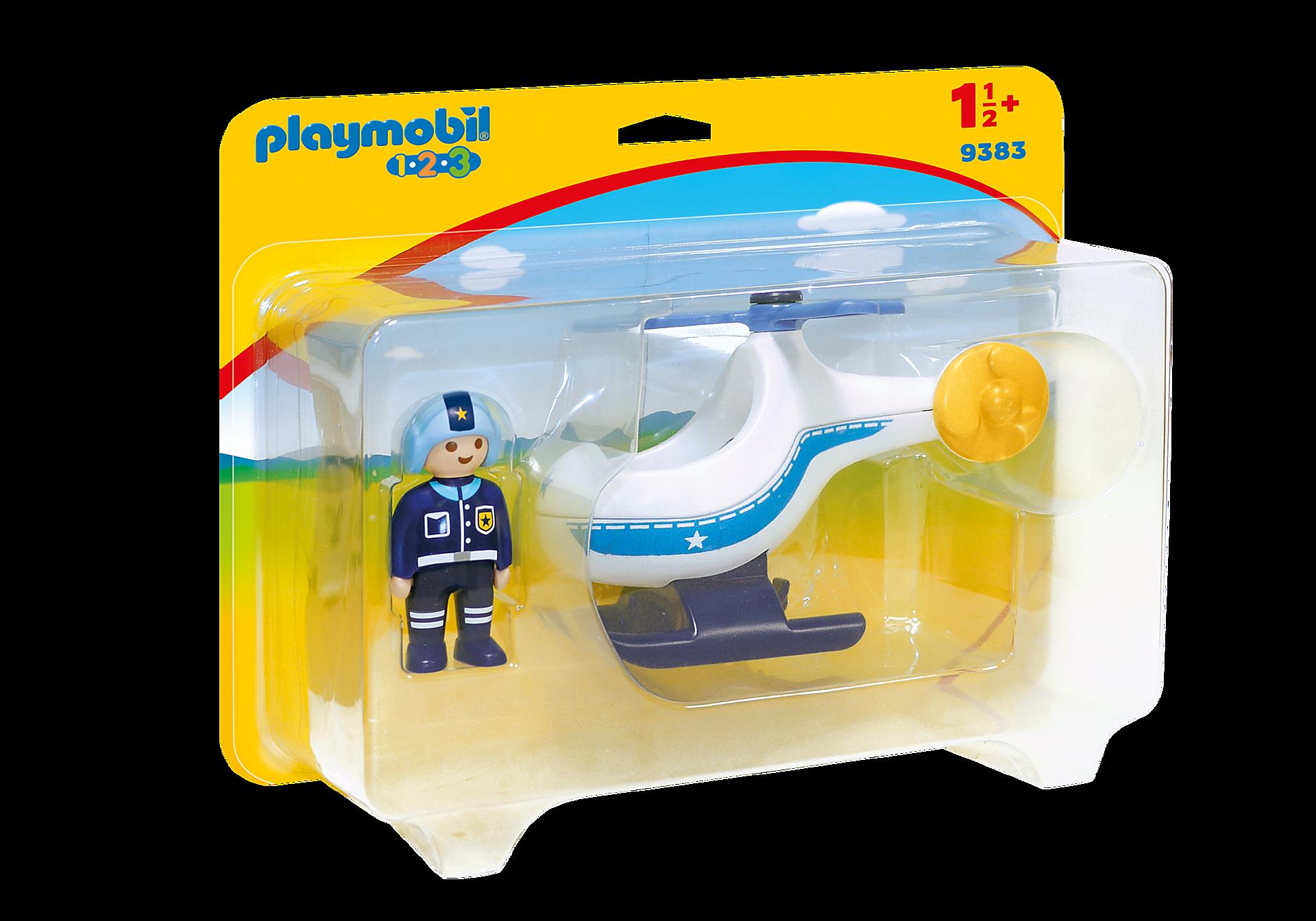 9383 Politihelikopter zoom image3