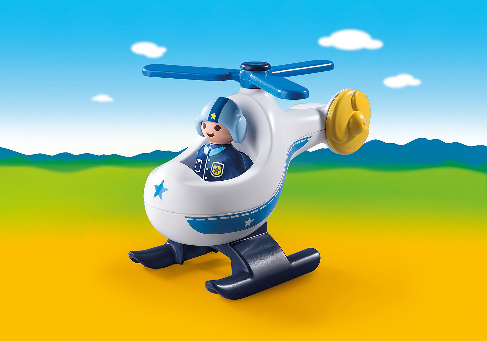 9383 Hélicoptère de police zoom image1
