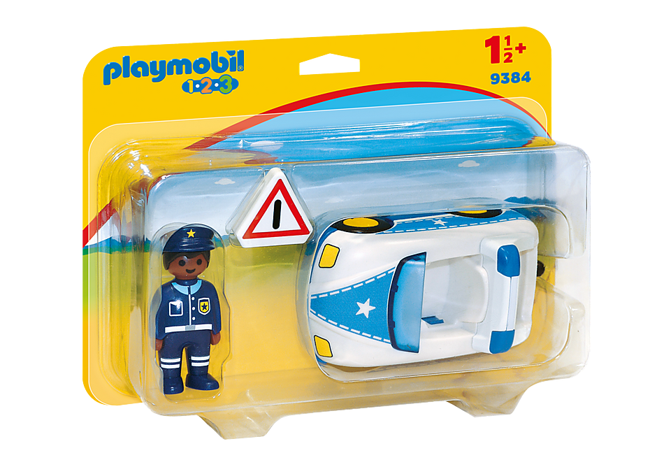 9384 Politiewagen detail image 3